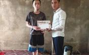 Trao tiền bạn đọc hỗ trợ đến 2 hoàn cảnh khó khăn ở Hà Tĩnh