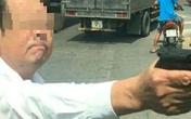 Bắc Ninh: Triệu tập người đàn ông rút súng đe doạ sau va chạm giao thông