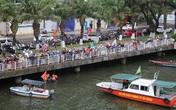 Bàng hoàng chứng kiến người đàn ông nhảy cầu sông Hàn tự tử chiều mùng 6 Tết