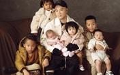 Đỗ Mạnh Cường hạnh phúc khi nhận nuôi 6 trẻ mồ côi