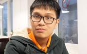Nam sinh giành giải nhất kỳ thi học sinh giỏi Toán