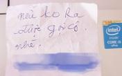 Đang bực tức vì chiếc ô tô đỗ bên cạnh chắn lối, nhưng nội dung viết trong mảnh giấy cài ở nắm cửa khiến nữ tài xế bật cười vui vẻ