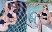 """Hoàng Thùy Linh bị chê mập, chỉnh ảnh """"méo ghế"""" khi diện bikini"""