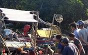Tìm thấy thi thể bé trai 8 tuổi trong vụ thuyền câu mực bị đâm chìm