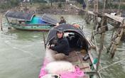 Lênh đênh phận đời vạn chài trên sông Lam giữa mùa giá rét