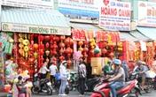 Thị trường đồ trang trí Tết Nguyên đán ở Sài Gòn bắt đầu nhộn nhịp
