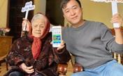 """Bằng Okyo và """"Cô gái Việt Nam"""" hài hước trải nghiệm ứng dụng hữu ích dành cho người cao tuổi"""