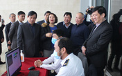 Bộ trưởng Nguyễn Thanh Long kiểm tra công tác chuẩn bị diễn tập y tế phục vụ Đại hội Đảng lần thứ XIII