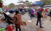 """Hải Phòng: Cận cảnh """"xe điên"""" lao giữa chợ, 7 người bị thương"""