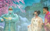 Dàn nghệ sĩ Táo Quân kêu gọi khán giả thực hiện thông điệp 5K của Bộ Y tế