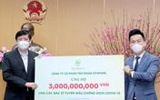 Tiếp nhận 13 tỷ đồng ủng hộ phòng chống COVID-19 từ Ecopark