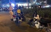 Khống chế đối tượng dùng dao đâm người đi đường sau va chạm giao thông ở Hà Nội