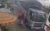 """Danh tính tài xế xe tải vượt ẩu suýt """"lấy mạng"""" người phụ nữ và 2 đứa trẻ ở Lâm Đồng"""