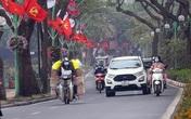 Đường phố Thủ đô bất ngờ vắng vẻ ngày Tết Táo quân