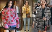 10 set đồ sang chảnh của sao Hàn, nàng mặc đẹp ngày Hà Nội mưa lạnh
