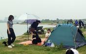 Bãi bồi sông Hồng - nơi người dân Hà Nội dựng lều, cắm trại - sẽ ra sao khi đồ án quy hoạch phân khu sông Hồng được phê duyệt?