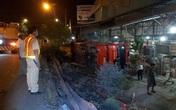 Tiền Giang: Xe giường nằm va chạm xe với tải rồi lật ngang, 5 người bị thương