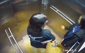Camera an ninh ghi lại hình ảnh cuối cùng của 2 cô gái trẻ trong thang máy trước khi rơi lầu chung cư ở Sài Gòn