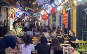 """Hà Nội: Nhiều tuyến phố """"không ngủ"""" sau chuỗi ngày giãn cách vì dịch COVID-19"""