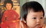 """Cường Đô La so sánh ảnh mình ngày bé với con gái mà khiến dân tình trầm trồ """"giống nhau như đúc"""""""