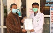 """Bệnh nhân 69 tuổi ở Hải Dương khỏi COVID-19: """"Tôi không bao giờ quên ơn bác sĩ…"""""""