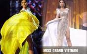 Màn hất váy gợi nhớ H'Hen Niê của Ngọc Thảo đêm bán kết Miss Grand International 2020