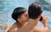 Cách thể hiện tình cảm khác biệt của Subeo khi chụp ảnh cùng Cường Đô La và Kim Lý