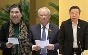 Quốc hội trình miễn nhiệm đối với bà Tòng Thị Phóng, ông Uông Chu Lưu và Phùng Quốc Hiển