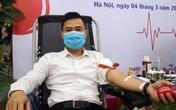 Công đoàn, Liên Chi đoàn thanh niên Tổng cục DS-KHHGĐ hiến máu cứu người mùa dịch COVID-19