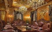 Choáng váng với nội thất dát vàng trong căn biệt thự 300 tỷ ngay trung tâm Hà Nội