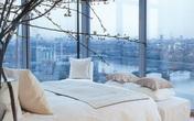 13 gợi ý thiết kế tường kính cho phòng ngủ để hưởng trọn tầm nhìn tuyệt đẹp bên ngoài