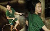 Diệu Nhi, Nam Thư bị phạt phải tắm cho heo tại 'Sao nhập ngũ'