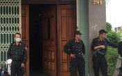 Hàng chục cảnh sát phong tỏa căn nhà ở Quảng Ngãi