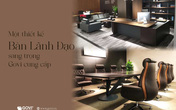 Nội thất văn phòng hiện đại Govi: Khi sáng tạo và sự đam mê là không giới hạn