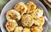 Thơm ngon món chả hải sản và ngô nấm