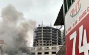 Sau tiếng nổ lớn, xưởng in ở Hà Nội bốc cháy