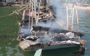 Quảng Ninh: Cháy tàu, 3 anh em ruột bị bỏng nặng