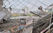 Hiện trường tan hoang vụ sập giàn giáo khiến 2 công nhân tử vong ở Bắc Ninh