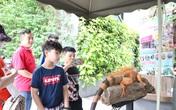 """Trẻ em Sài Gòn háo hức đến quán cà phê """"độc nhất vô nhị"""" chơi đùa với """"thú cưng tiền tỷ"""""""