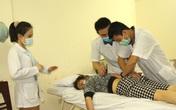 Người dân vui mừng khi nơi từng là bệnh viện dã chiến điều trị bệnh nhân mắc COVID-19 ở Hải Dương hoạt động trở lại