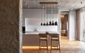Căn hộ 98 m2 phá cách với cảm hứng nhà đất sét