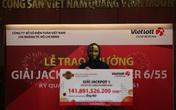 Người trúng vé số Vietlott 141,8 tỉ đồng là nhân viên văn phòng ở TP.HCM