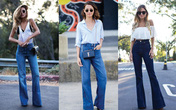 3 kiểu quần jean tiếp tục hot nhất hè 2021, nàng công sở không bao giờ sợ lỗi mốt từ mùa này sang mùa khác