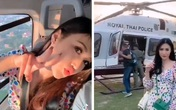 Sĩ quan Thái Lan bị cách chức vì video check-in của vợ