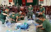 Thừa Thiên – Huế: Bộ đội làm hàng ngàn tấm chắn giọt bắn hỗ trợ lực lượng tuyến đầu chống dịch