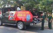 Bộ đội vào tận vùng dịch tuyên truyền phòng chống COVID-19 và công tác chuẩn bị bầu cử