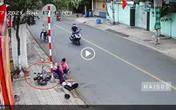 Danh tính gây bất ngờ của cặp đôi chạy xe máy đạp 2 học sinh ngã xuống đường gây phẫn nộ dư luận