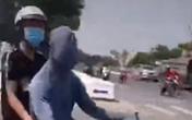 Kinh hoàng clip nam thanh niên trùm kín đầu chạy xe máy lạng lách đánh võng trên đường phố Đà Nẵng