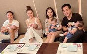 Hai gia đình Hồ Ngọc Hà và Dương Khắc Linh cho các con gặp mặt ngay sau khi bày tỏ mong muốn làm thông gia