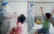 Đà Nẵng: Bác sĩ giúp bệnh nhi COVID-19 ăn uống, vui chơi như ở nhà